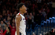 Gonzaga beat BYU 68-60 on Feb. 3. Photo by Zack Berlat.