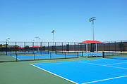 Tennis Courts at the Great Park Tennis Facility
