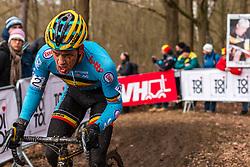Tom Meeusen (BEL), Men Elite, Cyclo-cross World Championship Tabor, Czech Republic, 1 February 2015, Photo by Pim Nijland / PelotonPhotos.com