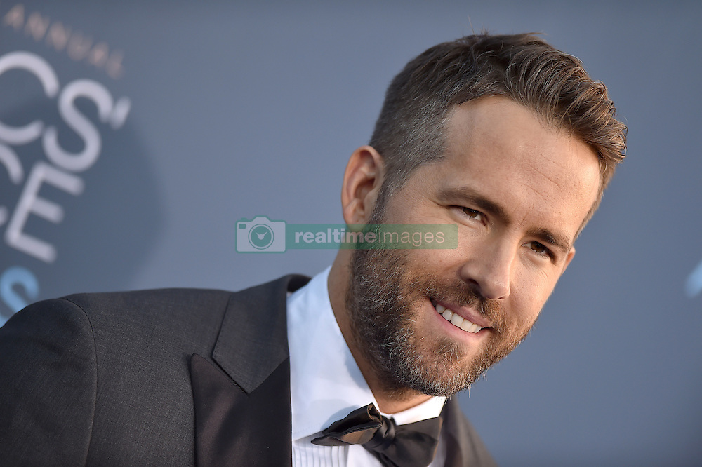 Ryan Reynolds attends the 22nd Annual Critics' Choice Awards at Barker Hangar on December 11, 2016 in Santa Monica, Los Angeles, CA, USA. Photo By Lionel Hahn/ABACAPRESS.COM