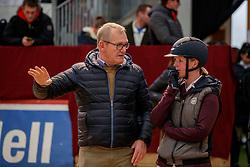 ENGEMANN Heinrich-Hermann (Co-Bundestrainer Springen), EGGERSMANN Friederike (GER)<br /> Neustadt-Dosse - 20. CSI Neustadt-Dosse 2020<br /> Impressionen am Rande<br /> 11.Januar 2020<br /> © www.sportfotos-lafrentz.de/Stefan Lafrentz