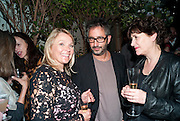 HELEN FEILDING; DAVID BADDIEL, Party for Perfect Lives by Polly Sampson. The 20th Century Theatre. Westbourne Gro. London W11. 2 November 2010. -DO NOT ARCHIVE-© Copyright Photograph by Dafydd Jones. 248 Clapham Rd. London SW9 0PZ. Tel 0207 820 0771. www.dafjones.com.