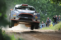 30.06.2015, Pasym, POL, FIA, WRC, Ralley Polen, Training, im Bild ROBERT KUBICA I PILOT MACIEJ SZCZEPANIAK TESTUJA FORDA FIESTE WRC NA WARMINSKICH SZUTRACH NA ZDJECIU ROBERT KUBICA MACIEJ SZCZEPANIAK FORD FIESTA RS WRC // during a trainingssession of FIA, WRC Poland Ralley at Pasym, Poland on 2015/06/30. EXPA Pictures © 2015, PhotoCredit: EXPA/ Newspix/ Bogdan Hrywniak<br /> <br /> *****ATTENTION - for AUT, SLO, CRO, SRB, BIH, MAZ, TUR, SUI, SWE only*****