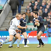 Twickenham, GREAT BRITAIN,  Oxfords',  Chris MAHONY, collects the high ball, during the 2008 Varsity Rugby match Oxford vs Cambridge played at the RFU Stadium Twickenham, Surrey on  Thursday, 11/12/2008[Photo, Peter Spurrier/Intersport-images]
