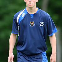 St Johnstone FC training...10.07.07<br /> Kevin Moon<br /> Picture by Graeme Hart.<br /> Copyright Perthshire Picture Agency<br /> Tel: 01738 623350  Mobile: 07990 594431