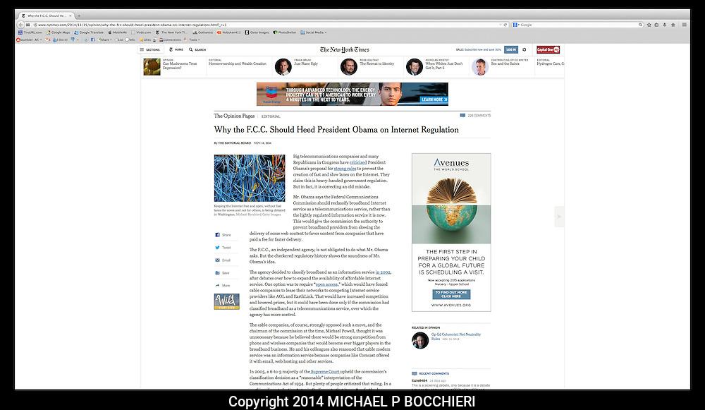 DIGITAL TEARSHEET:  November 29, 2014 in NEW YORK, NY.  (Photo by Michael Bocchieri/Bocchieri Archive)<br /> <br /> PUBLICATION DATE:<br /> PUBLICATION<br /> CAPTION:<br /> URL: