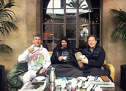 "Thomas Hayo releases a photo on Instagram with the following caption: ""#Kaffeekr\u00e4nzchen Rainy Sunday with @andresaraiva \u0026 @henryalex #chateau #inmates #homeawayfromhome"". Photo Credit: Instagram *** No USA Distribution *** For Editorial Use Only *** Not to be Published in Books or Photo Books ***  Please note: Fees charged by the agency are for the agency's services only, and do not, nor are they intended to, convey to the user any ownership of Copyright or License in the material. The agency does not claim any ownership including but not limited to Copyright or License in the attached material. By publishing this material you expressly agree to indemnify and to hold the agency and its directors, shareholders and employees harmless from any loss, claims, damages, demands, expenses (including legal fees), or any causes of action or allegation against the agency arising out of or connected in any way with publication of the material."