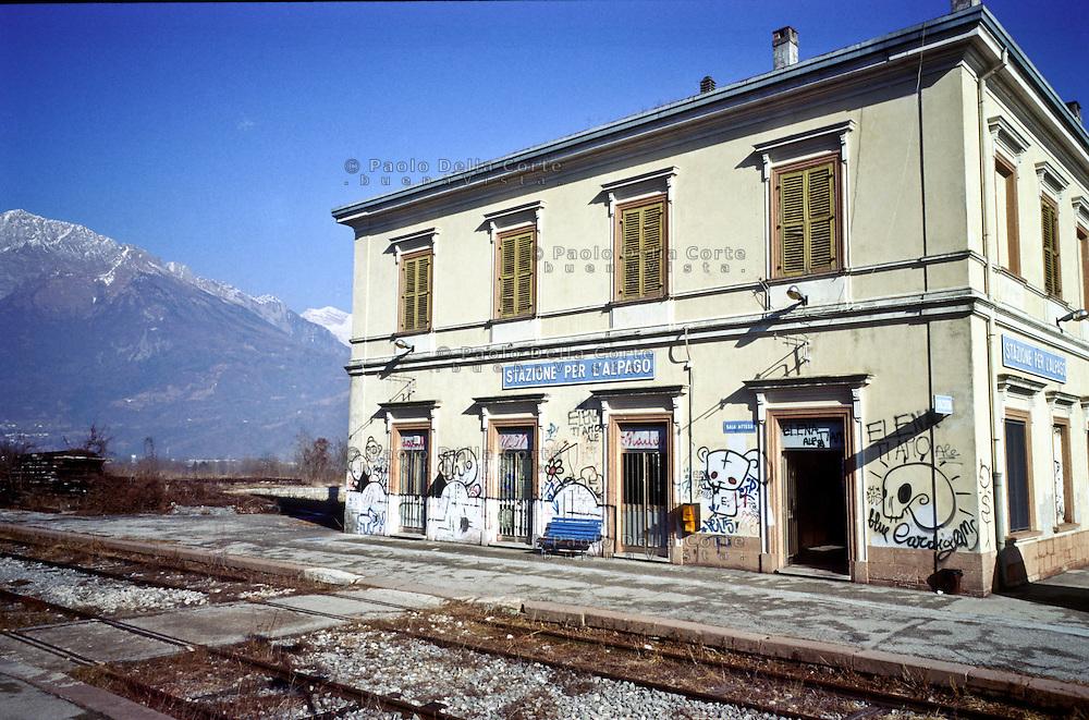 Calalzo di Cadore - La stazione ferroviaria.