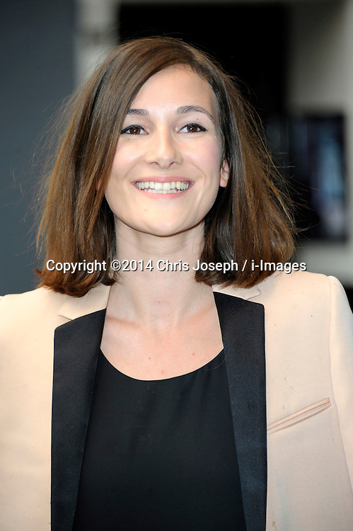 Image ©Licensed to i-Images Picture Agency. 08/07/2014. London, United Kingdom. Sarah Solemani during the press night for 'The Curious Incident Of The Dog In The Night-Time' at Gielgud Theatre. Picture by Chris Joseph / i-Images
