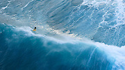 Tow in Surfing, North Shore, Oahu, Hawaii