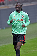Eder during the Portuguese training session at Wembley Stadium, London, England on 1 June 2016. Photo by Jon Bromley.