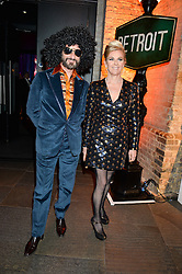 COUNT & COUNTESS MANFREDIE DELLA GHERARDESCA at A Night of Motown in aid of Save The Children UK held at The Roundhouse, Chalk Farm Road, London on 3rd March 2016.