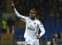 Ryan Sessegnon of Fulham celebrates his goal- Mandatory by-line: Nizaam Jones/JMP- 26/12/2017 -  FOOTBALL - Cardiff City Stadium - Cardiff, Wales -  Cardiff City v Fulham - Sky Bet Championship