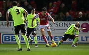 Rotherham United midfielder Joe Newell (22) during the Sky Bet Championship match between Rotherham United and Brighton and Hove Albion at the New York Stadium, Rotherham, England on 12 January 2016.