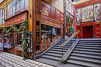 France, Paris (75), Musée Grévin dans le passage Jouffroy // France, Paris, Grevin museum, Jouffroy passage