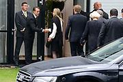 Besloten bijeenkomst voor nabestaanden van de slachtoffer van de vliegramp met de MH17 in het NBC Congrescentrum in Nieuwegein <br /> <br /> Closed meeting for the families of the victims of the plane crash with the MH17 , in NBC congresscentre in Nieuwegein <br /> <br /> Op de foto / On the photo:  Aankomst Koning Willem Alexander en Koningin Maxima / Arrival King Willem Alexander and Queen Maxima