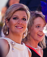 THE HAGUE - Princess Maxima during the celebration of the American Chamber of Commerce in THe HAgue. COPYRIGHT ROBIN UTRECHT