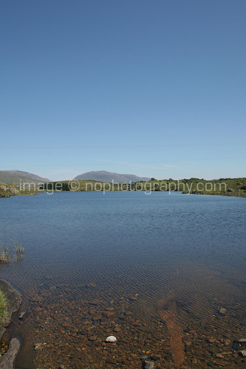 Lake in Connemara County Galway Ireland