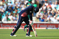 England's Joe Root during the ICC Champions Trophy, Group A match at The Oval, London.