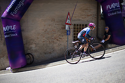 Nikola Noskova (CZE) of BePink Cycling Team rides near the top of the final climb of Stage 5 of the Giro Rosa - a 12.7 km individual time trial, starting and finishing in Sant'Elpido A Mare on July 4, 2017, in Fermo, Italy. (Photo by Balint Hamvas/Velofocus.com)