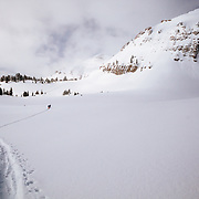 Tanner Flanagan heads deep into the Teton backcountry with his mother to find the deepest powder of many seasons past before it all melts.