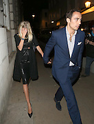 25.APRIL.2013. LONDON<br /> <br /> JAMES MIDDLETON AND DONNA AIR SEEN LEAVING LOULOU'S PRIVATE MEMBER CLUB IN MAYFAIR, LONDON HAND IN HAND.<br /> <br /> BYLINE: EDBIMAGEARCHIVE.CO.UK<br /> <br /> *THIS IMAGE IS STRICTLY FOR UK NEWSPAPERS AND MAGAZINES ONLY*<br /> *FOR WORLD WIDE SALES AND WEB USE PLEASE CONTACT EDBIMAGEARCHIVE - 0208 954 5968*