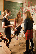 LAURA GALLAGHER; FRANCESCA HAMMERSTEIN; DAISY DE VILLENEUVE, Party hosted for Jason Wu by Plum Sykes and Christine Al-Bader. Ladbroke Grove. London. 22 March 2011. -DO NOT ARCHIVE-© Copyright Photograph by Dafydd Jones. 248 Clapham Rd. London SW9 0PZ. Tel 0207 820 0771. www.dafjones.com.