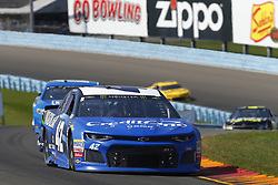 August 5, 2018 - Watkins Glen, New York, United States of America - Kyle Larson (42) brings his car through the turns during the Go Bowling at The Glen at Watkins Glen International in Watkins Glen , New York. (Credit Image: © Chris Owens Asp Inc/ASP via ZUMA Wire)