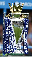 Football - 2014 / 2015 Premier League - Chelsea vs. Sunderland.   <br /> <br /> Barclay's Premier League Trophy at Stamford Bridge. <br /> <br /> COLORSPORT/DANIEL BEARHAM