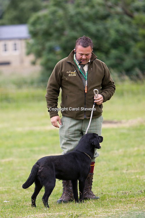 Darren Kirk of Kirkbourne Spaniels Display