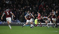 Joey Barton of Burnley (C) celebrates after scoring his sides first goal - Mandatory by-line: Jack Phillips/JMP - 14/01/2017 - FOOTBALL - Turf Moor - Burnley, England - Burnley v Southampton - Premier League