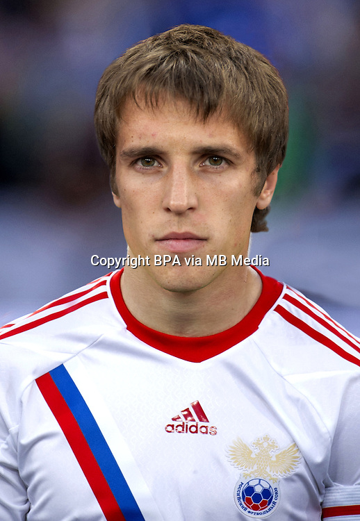 Football Fifa Brazil 2014 World Cup / <br /> Russia National Team - <br /> Dmitri Kombarov of Russia