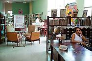 Librarian in Holguin, Cuba.