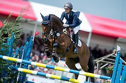 Blom Merel (NED) - Rumour Has It<br /> Show Jumping - CCI4* <br /> Mitsubishi Motors Badminton Horse Trials 2014 <br /> © Hippo Foto - Jon Stroud