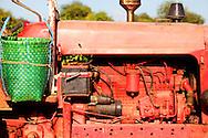 Tractor near Bayamo, Granma, Cuba.