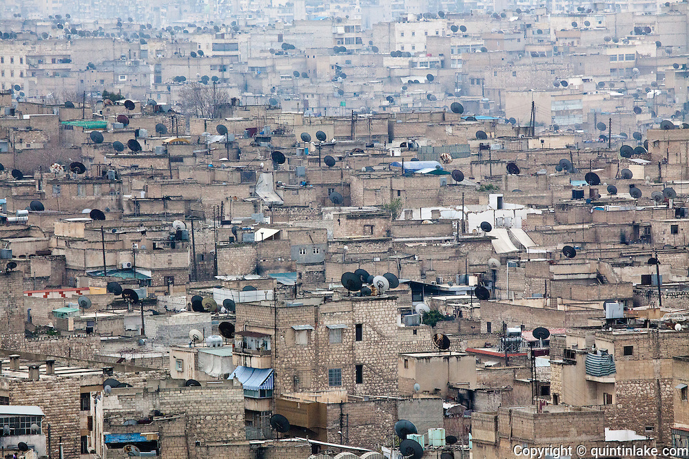 Rooftops of Aleppo, Syria