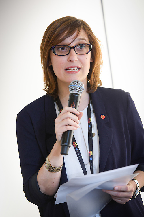 03 June 2015 - Belgium - Brussels - European Development Days - EDD - Gender - Gender equality - Exploring innovative ways to engage boys and young men in shifting social norms - Ester ASIN, Save the Children © European Union