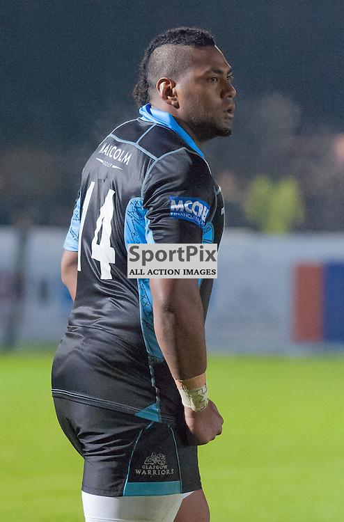 #14 Taqele Naiyaravoro (Glasgow Warriors) made his debut