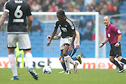 Brentford midfielder Romaine Sawyers (19) during the EFL Sky Bet Championship match between Brighton and Hove Albion and Brentford at the American Express Community Stadium, Brighton and Hove, England on 10 September 2016.