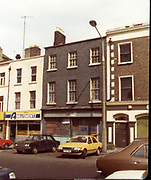 Old Dublin Amature Photos May 1984 With, Mary St Church and inside the church, High Rd, Kilmainham, Camac River, Powerstown, Parnell St, Nissan Cherry, Hilman Hunter, car, Ford Cortina,