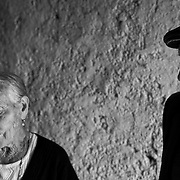 Italy, Basilicata- 94 years old the man, 98 the woman: they talk about the feast when they was young © 2012 Mama2