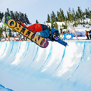 Halfpipe - LG Snowboard FIS World Cup 2009 - Cypress Mountain, British Columbia