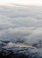 Lofoten from above, Norway