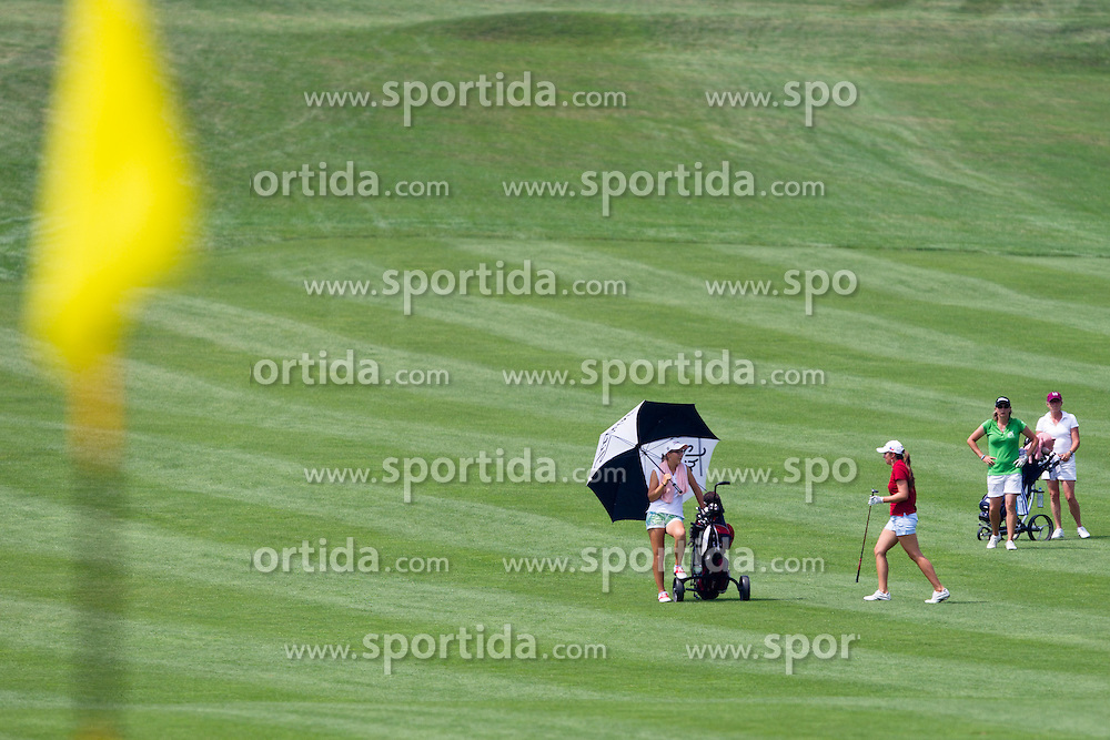 Competitors during golf competition in final day of International European Ladies Amateur Championship 2012, on July 28, 2012 in Smlednik at Ljubljana, Slovenia. (Photo by Matic Klansek Velej / Sportida.com)