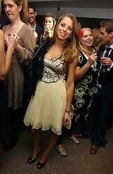 MISS LYDIA FORTE daughter of Sir Rocco Forte at a party to celebrate the publication of Tatler's Little Black Book 2006 held at 24, 24 Kingley Street, London W1 on 9th November 2006.<br /><br />NON EXCLUSIVE - WORLD RIGHTS