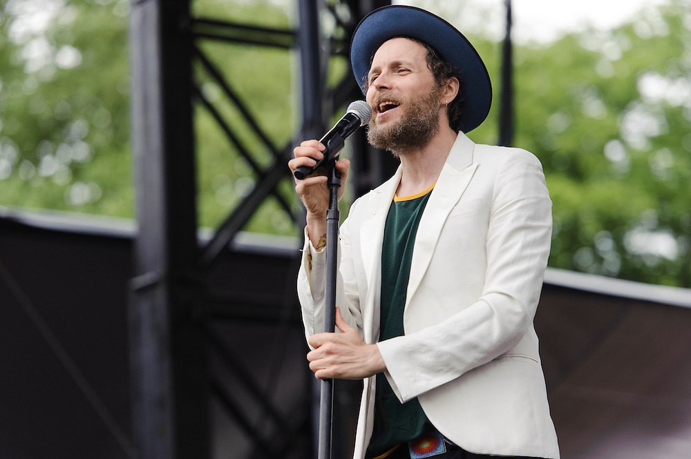 Photos of Lorenzo Cherubini AKA Jovanotti performing live at The Great GoogaMooga Festival at Prospect Park in Brooklyn, NY. May 18, 2013. Copyright © 2013 Matthew Eisman. All Rights Reserved