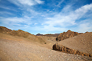 The colourful Eilat mountain range