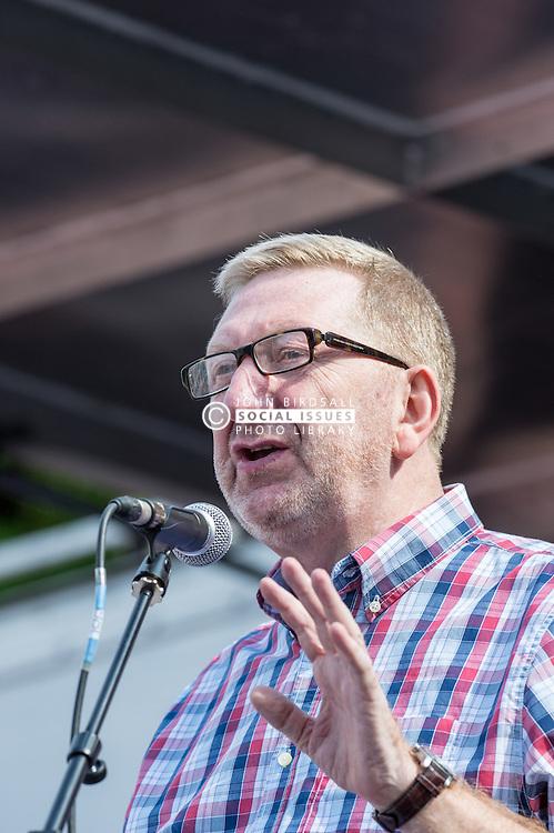 Len McCluskey, General Secretary of UNITE the Union, People's Assembly demonstration against Austerity, London, 21st June 2014