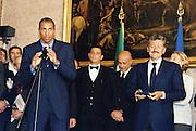 Incontro con D'Alema 1999<br /> carlton myers