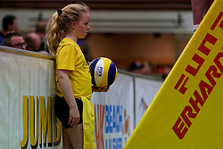 04-01-2020 NED: NK Beach volleyball Indoor, Aalsmeer<br /> Beach crew, ballgirl